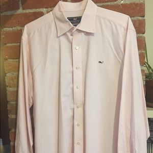 Vineyard Vines Pink Men's Shirt